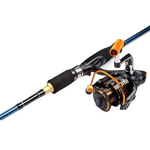 min min SCRA AC 2,4 METOS Habla STRAICIA Pesca DE Pesca AAQUEÑO Conjunto DE Pendiente M/ML Caña de Pescar Doble