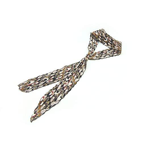 Meilliwish Nouveau style Retro Tissu Art Belle Hair Hoop Headband pour les femmes filles (E50)(Brown)