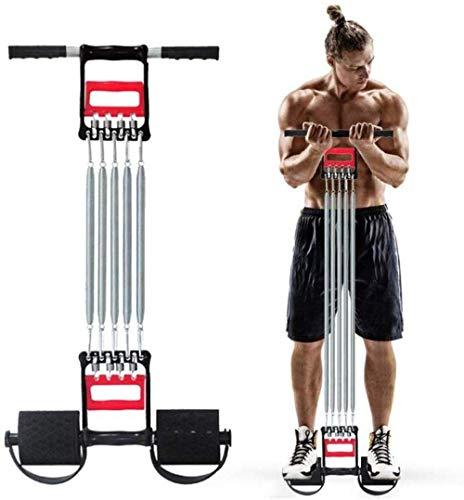 Z-LIANG Extensor de Pecho Muscular del ejercitador - multifunción 5 Tubo agarrador de la Mano del Pull-Up Barras elásticas se incorpora el accionamiento por Cable Equipo de la Aptitud