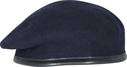 High Quality Officers Standard for all Ranks Béret de l'armée britannique RLC, Royal Sigs, Reme, MPS Bleu marine - Bleu - Taille Unique