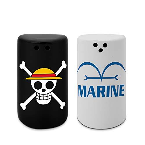 ABYstyle - One Piece - Salz und Pfefferstreuer - Totenkopf & Marine