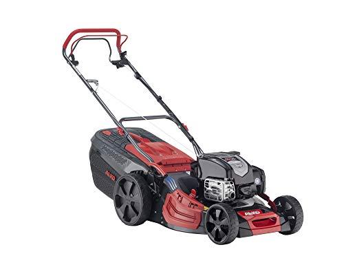 AL-KO Benzin-Rasenmäher Premium 520 SP-B (51 cm Schnittbreite, Briggs & Stratton Motor mit 2.4 kW, Stahlblechgehäuse, Hinterradantrieb, Mulchfunktion, Seitenauswurf, für Rasenflächen bis 1800 m²)