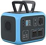 Generador Portátil Generador Inverter Generador portátil 500WH 135000mAh Power Battery Battery Pack Power Fuente de alimentación, AC / DC / USB / Tipo C / Cargador de automóvil / Cargador inalámbrico