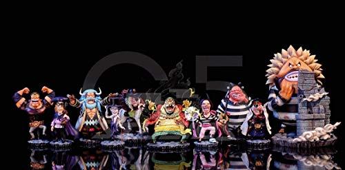 ONE PIECE ワンピース フィギュア 黒ひげ海賊団 G5 Studio SD GK完成品 一品物 POP P.O.P