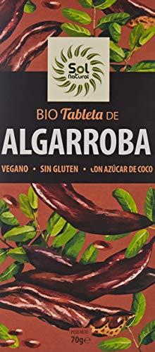 Solnatural Tableta De Algarroba Bio 70 G 100 g