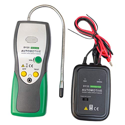 TISHITA Probador de Cables de Rastreo de Automóviles con Buscador Abierto Y Corto para
