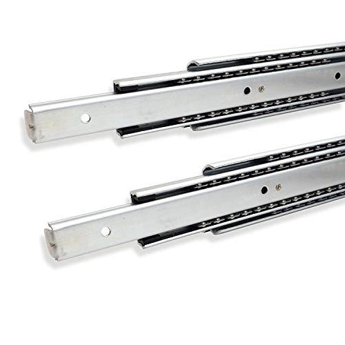 SOTECH 1 Paar Vollauszüge 114339 Höhe 53,4 mm, Länge 750 mm Schubladenschiene mit 80 Kg Tragkraft