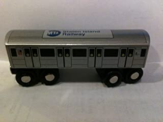 M.T.A. Munipals Staten Island Railway St. George - Tottenville Wooden Toy Train