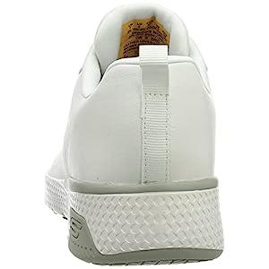 Skechers MARSING GMINA, Zapatos para Profesionales Sanitarios Mujer, White, 38 EU