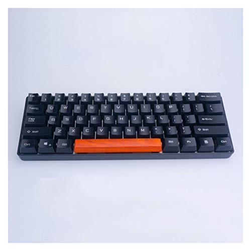 YXZQ Tecla 1pc KeyCAP 6.25X Barra espaciadora de Madera para un abridor MX Juego mecánico Teclado OEM para niño DIY Teclado Decoración Reemplazo de Teclado (Color : Red Rosewood)