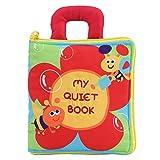 Libro Blando de Bebé Libro de tela para bebés, tela no tóxica divertida Infantil Inteligencia de desarrollo Libro de tela suave Aprendizaje temprano Libro de tela para bebés educativo para niños