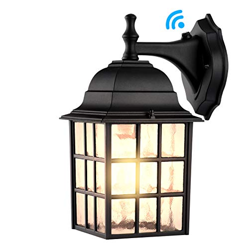 Dusk to Dawn Outdoor Wall Light Fixtures Wall Mount, Sensor Porch Lights, Exterior Wall Sconce Lighting, Anti-Rust Wall Lamp, Waterproof Wall Lantern, Outside Lights for Garage, Doorway