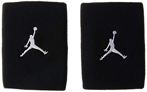 Nike Jordan Jumpman, Armbinden Unisex Adulto, Black/White, One Size