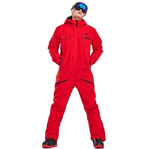 XYQY 2019 Neue Winter Ski Anzug Männer einStück Schnee Jumpsuit Bergski wasserdicht Dicke warme Snowboard Jacken Snowboardhose S C2
