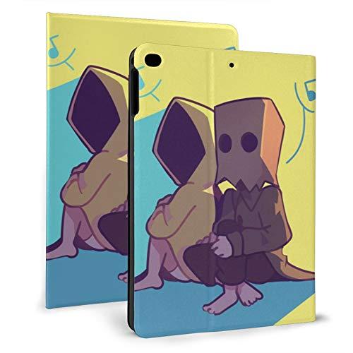 a bordo Maw TV Edition 1 Mono pop videojuego chica seis litt-le night-mares Caso para iPad con a prueba de golpes 7ª generación Multi-ángulo Ultra Thin artículos