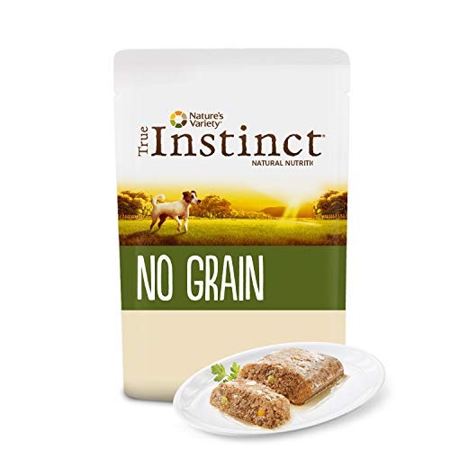 True Instinct No Grain - Nature's Variety - Mini Paté sin Cereales de Pollo para Perros 150 gr - Pack de 8 ⭐