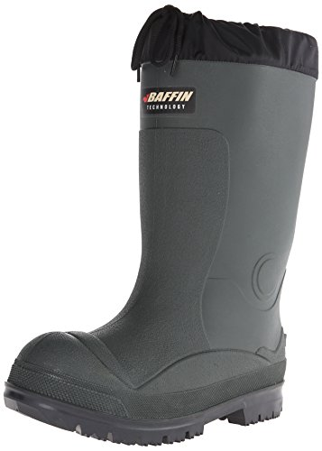 Baffin Men's Titan Canadian Made Insulated Rubber Boot,Forest/Black,8 M