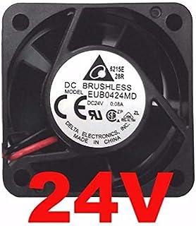 107.3CFM 61dB Tach Delta PFB0812UHE-F00 DC Fans 80x80x38mm 12V DC 18.6W