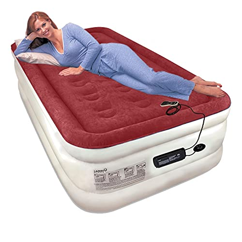 Lazery Sleep Air Mattress Airbed with Built-in Electric Settings