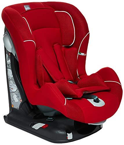 CAM Il mondo del bambino, Silla de coche grupo 1 Isofix, rojo