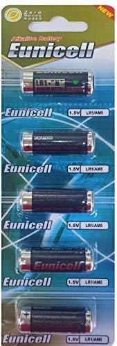 Eunicell 5 x LR1 / N/Lady 1,5V Alkaline Batterie 4001, 4901, MX9100, 910A (1 Blister a 5 Batterien) EINWEG Markenware
