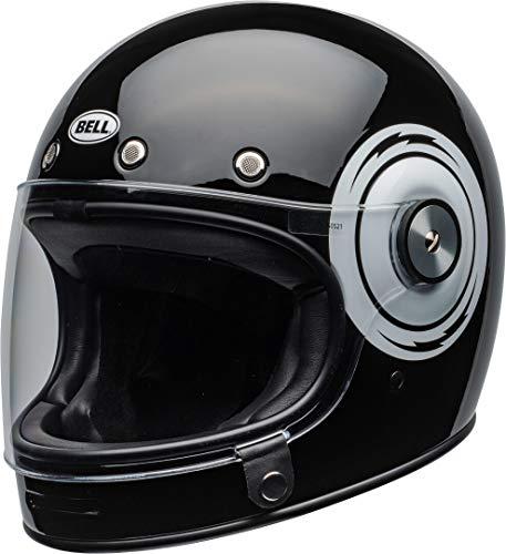 BELL HELMET BULLITT DLX BOLT BLACK/WHITE S