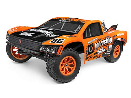 HPI Racing Jumpshot SC V2 Orange, Schwarz Brushless 1:10 RC Modellauto Elektro Short Course Heckantrieb (2WD) RTR 2,4 G