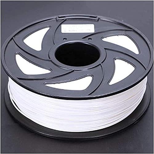 Parti della stampante 3D Filamento PLA da 1,75 mm FIT per stampante 3D Penna per estrusore Accessori in plastica Bobine da 1 kg (Colore : Grigio) (Colore : Grigio) Durevole (Color : White)