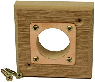 Kettle Moraine Replacement Predator Guard with Copper Portal for Eastern Bluebird Houses 1 1/2