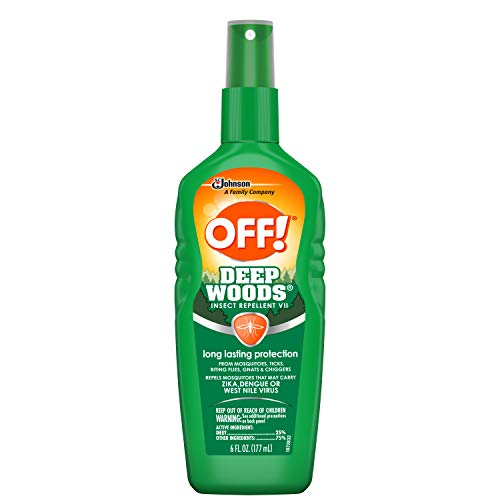 Off! Deep Woods Spritz Insect Repellant-6 oz.