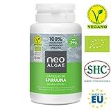 Spirulina en Capsulas | Producción 100% Natural | 120 Comprimidos de Spirulina por Envase | Potente Antioxidante...