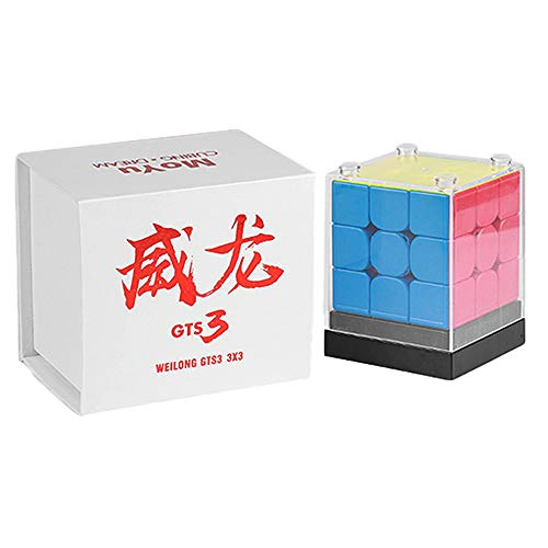 Moyu GTS 3 Magic Cube 3x3 Weilong GTS3 Speedcubing