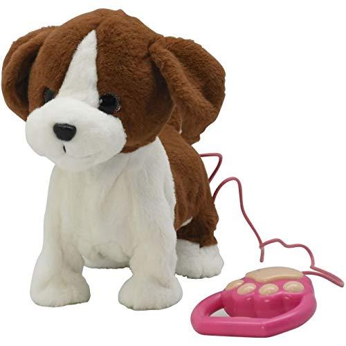 Besttoy - Plüschhund mit Funktion - braun