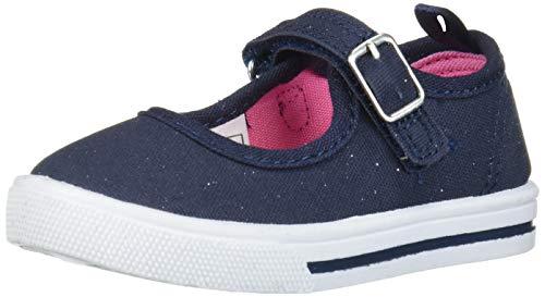 OshKosh B'Gosh Girls' Maryjane Snow Shoe, Navy,2 Toddler