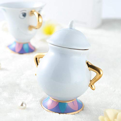 TOSISZ Cartoon Beauty and the Beast theepot Mrs Potts Pot Chip Cup beker Sugar Pot Bowl Mooi