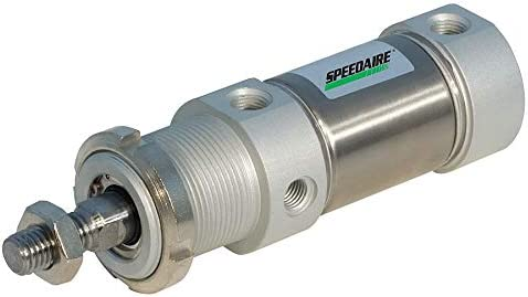 NEW Speedaire Oakland Mall 40mm Bore Dia. with Steel Nose 200mm Stainless Stroke