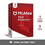 Easy to use, automatically detects and removes viruses, Trojans, malware Keeps your device safe, secure, protects against malicious virus attacks Software activation code will be delivered in an e-mail within 24 hours; This code only works in India I...
