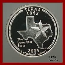 2004 US Mint Silver GEM Proof Texas State Quarter