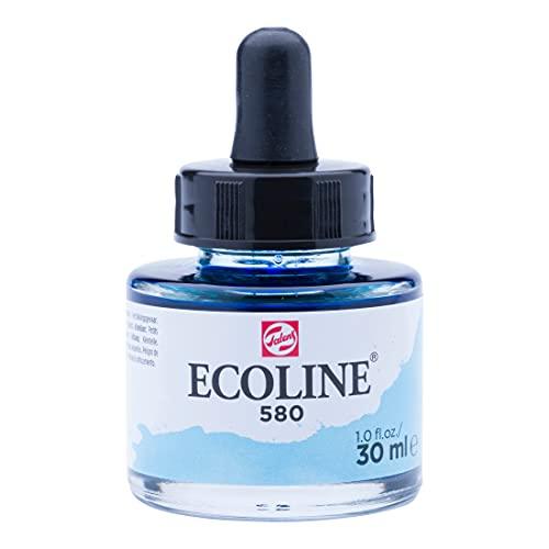 Ecoline Liquid Watercolour Bottle 30 ml Pastel blue 580 (11255801)