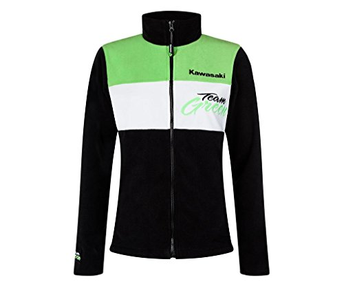 Kawasaki Team Green Fleece Jacke Damen (2XL/3XL)