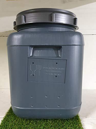 Mugar Bidón 20 litros Cuadrado- Cierre Rosca- Importaciones