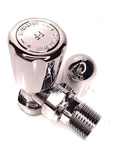 15mm Chrom Winkel Heizkörper Ventil–Optima Plus