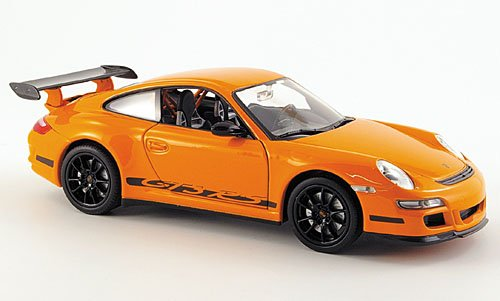 Porsche 911 GT3 RS (997), orange, 0, Modellauto, Fertigmodell, Welly 1:24