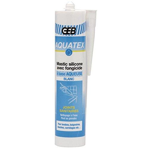 AQUATEX mastice con cartuccia di silicone, 310 ml, colore bianco di rif. 590800
