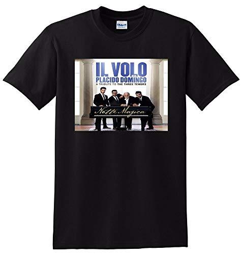 Il Volo T Shirt Notte Magica Vinyl CD Cover tee Small Medium Large Or XlBlack-L