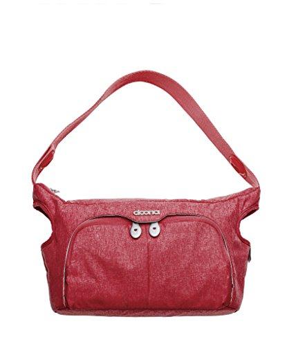 Simple PARENTING–Wickeltasche für Auto doona Essentials Love rot