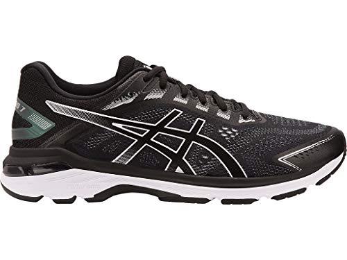 ASICS Men's GT-2000 7 (4E) Running Shoes, 7XW, Black/White