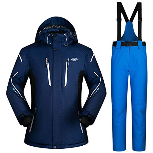 Ski Suit Heren Sets Super Warm Dikker Waterdicht Winddicht Winter Sneeuwpakken Mannelijke Sets Winter Skiën en Snowboarden Jas Mannen