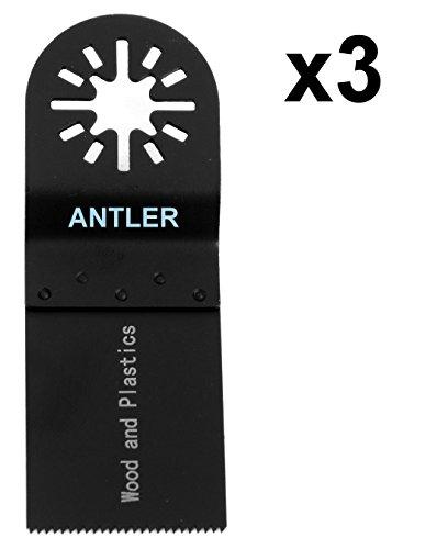 AB35WB03 Antler 35mm Holzklingen Sägeblatter Klingen Multitool Oszillierwerkzeug--Zubehör (Packung mit 3)