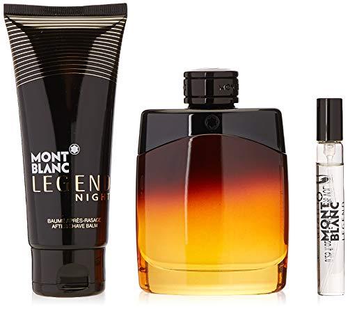 Montblanc MB Set Legend Night 100 ml Edp100Ml After-Shave BalmEdp 7.5